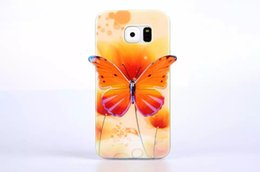 Wholesale Galaxy S4 3d - Hot Selling New arrive High quanlity 3D Butterfly Fashion Cover Soft senior Cover TPU Case for Samsung Galaxy S4 S5 S6 NOTE3 NOTE4