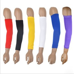 Wholesale Basketball Protective Pads - Nylon Compression Arm Sleeve Basketball Golf Baseball and Sun Protection Elbow Pad Protective Wholesale