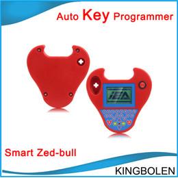 Wholesale Cloning Car Keys - Wholesale price Professional Transponder Key Programmer Smart Zed Bull car Key Clone tool Mini zed-bull Free Shipping