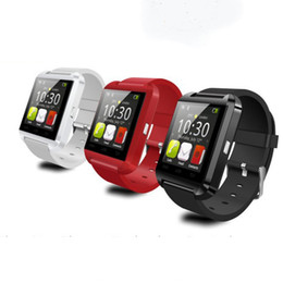Wholesale Cheap Smart Watches - U8 Smart Watch Bluetooth Phone Mate Smartwatch U Watch Wrist for Android for i5 i6 for S5 Note 3 Note 4 with Earphone cheap in stock 002293