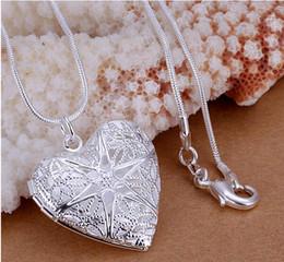 Сердце Фоторамка Медальоны Подвески 18