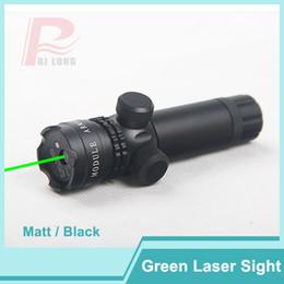 Wholesale gun pistol laser - Adjustable Tactical Green Laser Sight Gun Mount Outside Rifle Scope& Remote Pressure Switch for Pistol Picatinny Rail HT3-0001G