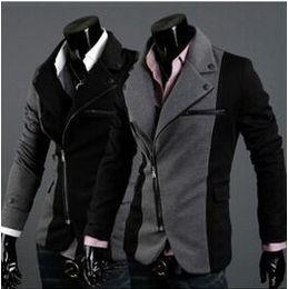 Wholesale Mens Wool Coat Xxl - New Design Windbreaker Mens Brand Blazer Jacket Coats,Casual Slim Fit Stylish Blazers jacket jaqueta esport M-XXL Chaqueta Outdoorwear