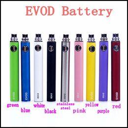 Wholesale Electronic Cig Batteries - Electronic Cigarette EVOD Battery 650mah 900mah 1100mah E-cigarette Battery for MT3 CE4 CE5 CE6 E cig Kit Instock