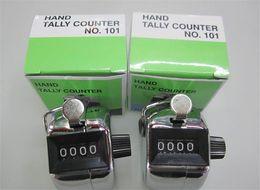 Люди счётчики онлайн-серебряная рука Tally счетчик металла счетчик ручные счетчики нажав Ручной счетчик люди подсчета с розничной коробке горячей продажи