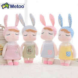 Wholesale Baby Boys Months Toys - Mini Metoo Doll Soft Health Plush Sweet Cute Stuffed Pendant Baby Kids Toys for boy Girls lover Birthday Christmas Gift dolls