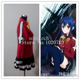 Wholesale Wendy Marvell Cosplay - Wholesale-Fairy Tail Wendy Marvell Cosplay Costume
