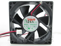 Wholesale Quiet Fans - Free Shipping New original TD8020LS 12V 0.08A 8CM fan dispenser 80*80*20 MM quiet fan