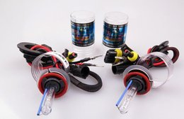Wholesale H8 35w - Xenon HID bulbs headlight AC 35W Car Headlight H1 H3 H4 H7 H8 H9 H27 880 881 9005 HB3 9006 HB4 3000k 4300 5000K 6000K 8000K