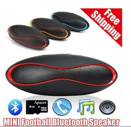 Wholesale Rugby Package - Rugby Bluetooth Speakers Subwoofers Speakers Portables Music Speaker Wireless With TF Card U Disk Slot Original Mini-X6U with retail package