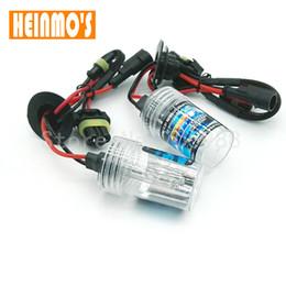 Wholesale Hb4 Hid Lights - 2* 55w H7 HID Xenon bulb Car Headlight Replacement Lamps H11 6000k 4300k 8000k H8 H11 H1 9005 9006 hb3 hb4 xenon Headlamp source 12V