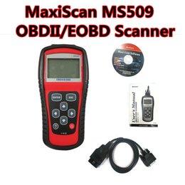 Wholesale Arrival Jaguar - New arrival! MS509 OBD2 vehicle fault computer detection instrument scanning tool MaxiScan MS509 OBDII EOBD Scanner