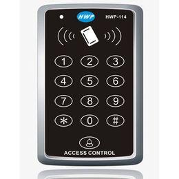 Wholesale Door Access Control Card - NEW RFID Proximity Door Access Control System RFID EM Keypad Access Control 125KHz Access Controller 5 cards free