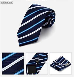 2015 Männer binden Männer Kleid Mode Business professionelle Krawatten, um die Bräutigam Krawatte Han-Edition gestreifte Krawatte zu heiraten von Fabrikanten