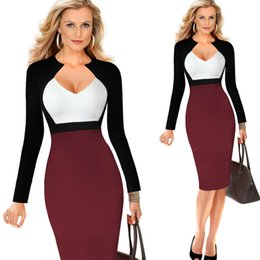 Wholesale Sexy Dress Fight - Vitoria new women's sexy dress deep V collar fight fashion dress spot A1227