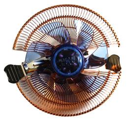 ventilador de refrigeração de 12v cpu Desconto Atacado-Durável 22dBA 12V DC Ventilador Cooler Fan PC Radiador Computer Heat Sink 4 Tubos para AMD para Intel