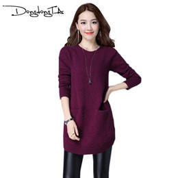 a5be537501 Wholesale- Dongdongta Spring Fashion Women sweater high elastic Solid  Turtleneck sweater women slim sexy tight Bottoming Knitted Pullovers