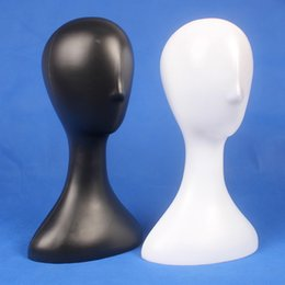 Wholesale Mannequin Head Hat Stand - Wholesale High Quality Plastic Female Mannequin Head Hat Wig Display Stand Holder