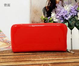 Wholesale Cheap Leather Ladies Wallet - Hot! wholesale 2017 famous brand fashion single zipper cheap luxury women pu leather wallet lady ladies woman long purse