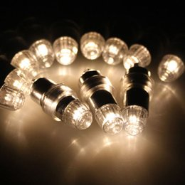 Wholesale Battery For Paper Lantern - GDX Waterproof Screw thread 3 different style LED Party Balloons Lights Decoration White Light For Paper Lanterns Include Batteries YH008