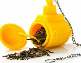 Wholesale Tea Balls Infusers - Silicone Tea Infusers Tea Making Device wholesale tea set ECO friendly infuser filter device ball cup OEM order accepted