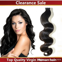 Wholesale Cheapest Bundle Hair - Cheapest!!!Malaysian Virgin Human Hair Weave Products Cheap Unprocessed Malaysian Hair Bundles 3 pieces lot Dyeable No Shedding
