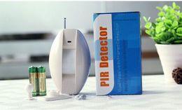 Wholesale Infrared Curtain - NEW Wireless Infrared Curtain PIR Sensor PIR Detector Curtain Sensor Burglar Alarm System Intrusion