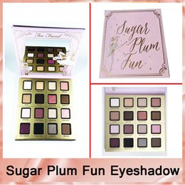 Wholesale Fairy Colors - Hot TF Sugar Plum Fun Eyeshadow Palette 16 Color Matte and Shimmer Shades Eye Shadow Palette Fairy set Makeup Maquiagem Highlighter DHL-1