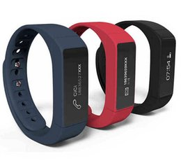 Wholesale Ems Male - iwown I5 Plus Smart Wristband Bluetooth Activity Bracelet Intelligent Sports Smart Watch Step Sleep Track Caller DHL EMS Free