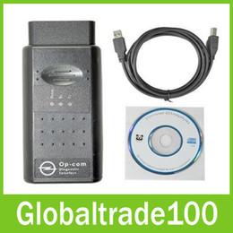 Wholesale Diagnostic Tools Op Com - 2016 Latest Version V1.45 OBD2 OP-Com OPCOM Diagnostic Scanner Tool for Opel Free DHL Shipping
