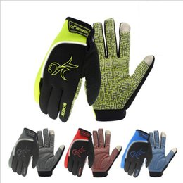 Wholesale Bicycle Winter Gloves Waterproof - Cycling Gloves Warm non-slip touch screen Gloves waterproof Bike Bicycle Riding Gym Finger Gloves Outdoor Sport Shockproof Mittens YYA838