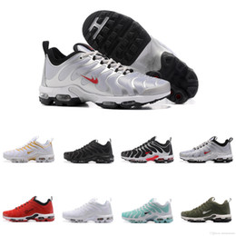 Wholesale Fashion Cargo - 2017 Fashion Increased Plus TN Ultra Breathable Light Casual Shoes for men and women Olive Cargo GS sports sneakers Euro size36-46