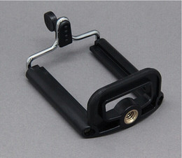 Wholesale Smartphone Phone Camera Stand Clip Holder Mount Bracket Monopod Tripod Mount Adapter Universal