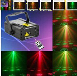Wholesale Dj Laser Light 3d - High quality bar and KTV laser lightings 3D effcet voice control laser lighting stage lightings christmas lightings 110 - 240 v