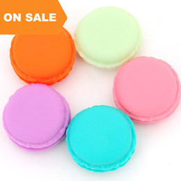 Wholesale Statement Necklace Candy - Fashion Candy Macaron Jewelry Box Mini jewelry Storage Boxes Pill Case Packaging for necklace earring rings statement jewelry 050010