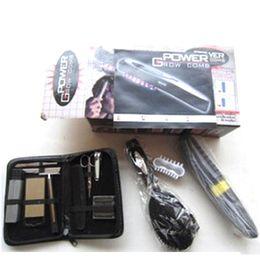 Germinal Comb Power Grow Hair Grow Laser pettine Cura dei capelli Styling Makeup Pettine Massaggio elettronico 10pcs da