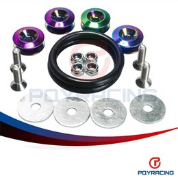 Wholesale Quick Stores - PQY STORE- NEO CHROME Quick Release Fasteners are ideal for front bumpers, rear bumpers, and trunk   hatch lids PQY-QRF91CR