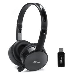 Wholesale Skype Headset Wireless - free shipping 2.4G wireless Stereo computer PC headphone earphone headset with mic skype facebook MSN Wireless chat