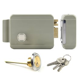 Wholesale Door Video Electric - Anti-theft Electric Controlled Lock for Building Intercom System, Video Door Phone System used Electric Lock