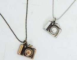 Wholesale Small Camera Necklaces - Wholesale-Free Shipping! Wholesale high fashion cute small alloy camera necklace ,vintage jewelry, fashion jewelry ...