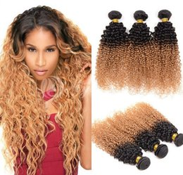 Dropshipping celebrity hair weave uk free uk delivery on deep curly two tone ombre hair weavest1b 27 mixed color brazilian virgin remy hair bundles10 30 stunning celebrity kinky curly ombre hair uk pmusecretfo Image collections