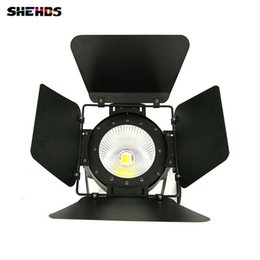 Wholesale Stage Lighting Cases - LED Par COB 100W With Barn Doors High Power Aluminium Case Stage Lighting with 100W COB ,cool white and warm white