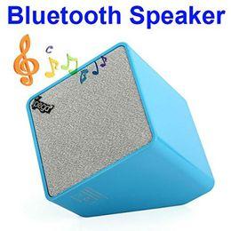 Wholesale Ipega Ipad Mini - Wholesale-new iPega PG-IH099 Quadrate Mini Wireless Stereo Bluetooth Speaker for iPhone iPad and Other Mobiles black white pink blue