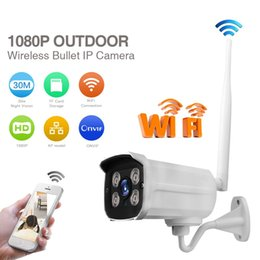 Wholesale Hd Onvif - LS-SC4 2MP WIFI IP Camera Full HD 1080P waterproof outdoor Bullet Camera ONVIF IR night vision wireless remote control Camera ann