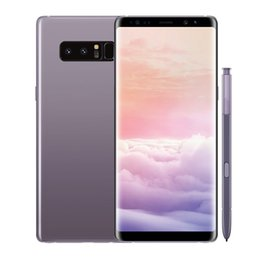 Wholesale French Front - goophone note8 Note 9 note 8 s8 Octa Core MTK6592 shown 4G LTE 6.2inch Android 7.0 Smartphones 128GB ROM Cell phone