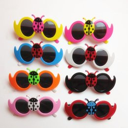 Wholesale Yuxi Fashion - Wholesale-2015 YUXI New Fashion Insect Summer Style Metal Glasses Boys And Girls Children's Vintage Sunglasses Star Outdoor Goggles