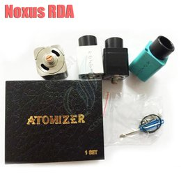 Wholesale Cube Cap - Noxus RDA Rebuildable Atomizers Huge vapor 510 Thread Airflow Control 22mm diameter Triple post Magnet Top Cap Mods Vaporizer V Cube Square