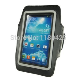 Wholesale Galaxy S4 Holder Belt - Wholesale-Sports Running Armband Leather Case For Samsung Galaxy S5 i9600 S3 S4 Mobile Phone Holder Pounch Belt GYM Fashion
