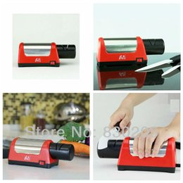 Wholesale Electric Ceramic Knife Sharpener - High Quality Electric 18W Diamond Two Grinders Grinder Renewable Kitchen Knife Sharpener Ceramic Knife Sharpener