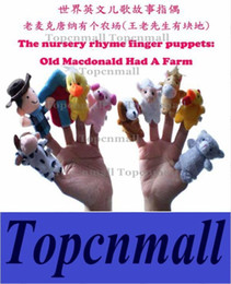 Wholesale Old Macdonald - Plush Finger Puppets Pattern For Kids Students Talking Props Toys dolls World The Nursery Rhyme-Old Macdonald Had A Farm